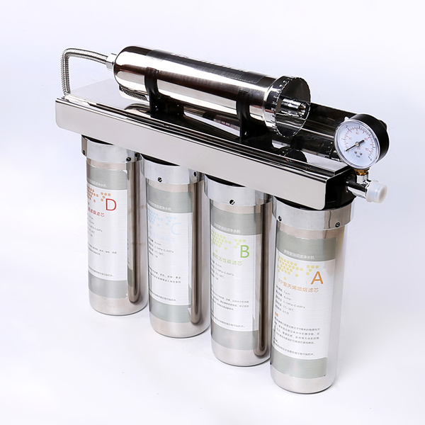 Multiple Stage Ultra Filtration Water Purifier supply SUS Under Sink UF water purifier flow rate ranges from various capacity Five Stage UF water purifier
