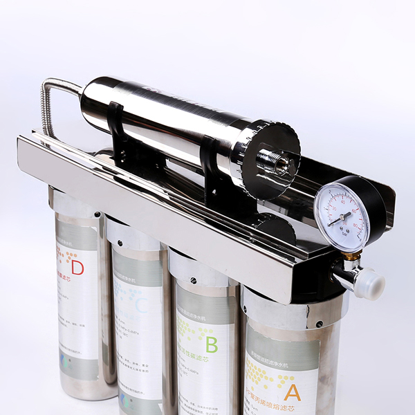 Multiple Stage Ultra Filtration Water Purifier high flow rate withour any pressure bucket Five Stage UF water purifier