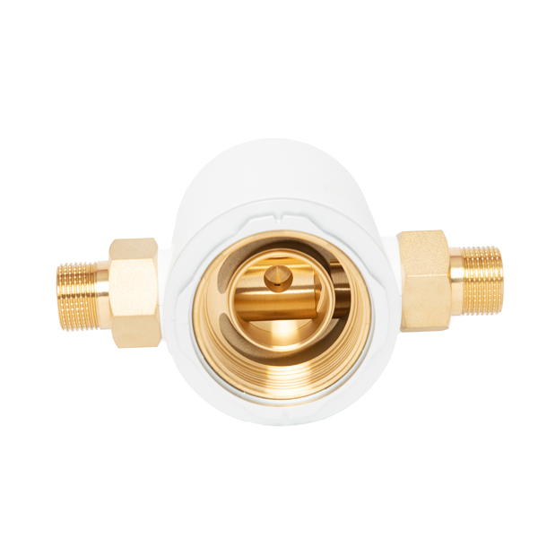 Home Tap Water Prefilter upgraded brass 100% lsolate toxic lead NFT FA-S001