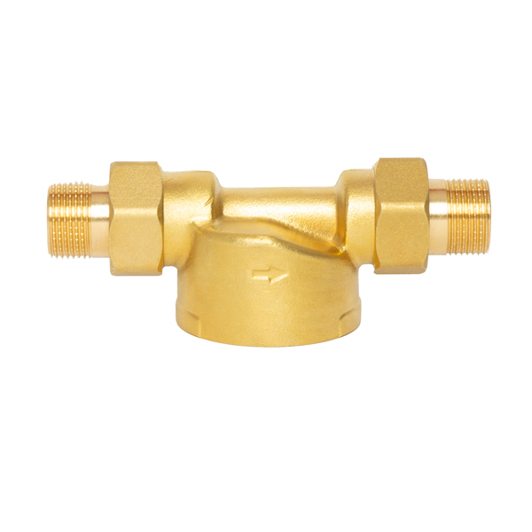 Home Municipal Water Pre-filter connection size is 1''to3/4'' brass unionNFT FM-MK001