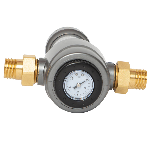 Double Scraping Covered Prefilter  pressure gauge NFT SMD-3