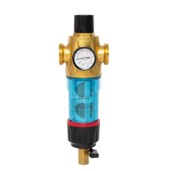 Double Scraping Pressure Control Prefilter with pressure control valve & pressure NFT SMD-4