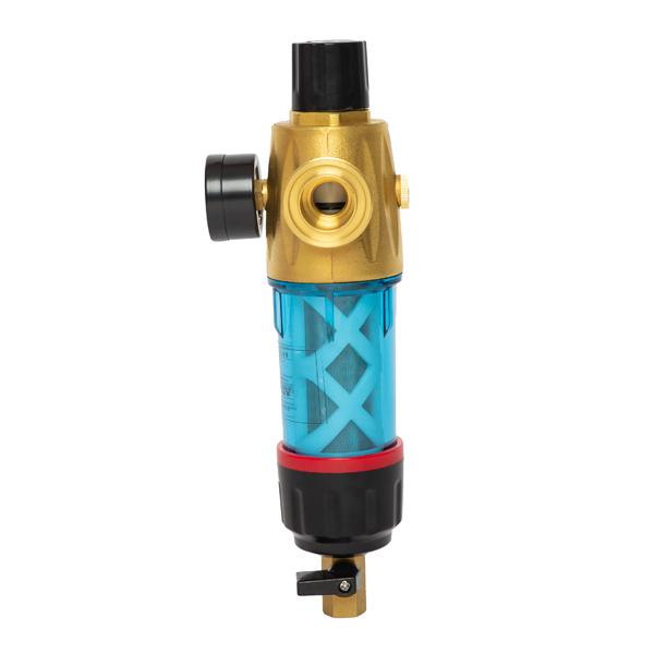 Double Scraping Pressure Control Prefilter in brass head design NFT SMD-4