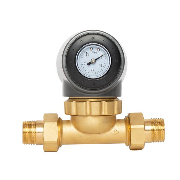 Double Scraping Pressure Control Prefilter pressure gauge NFT SMD-5