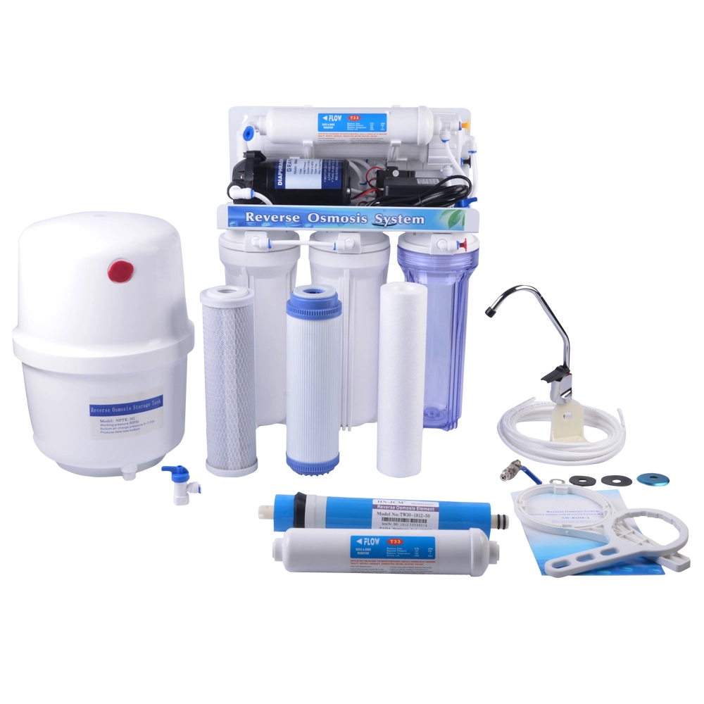 Five Stage Under Sink RO Water Purifier with Metal Stand Frame