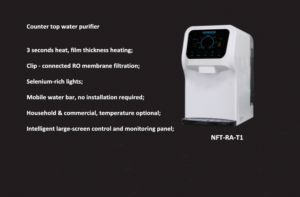 Convenient and fast water purifier NFT-RA-T1