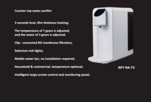 Fivefine filtration, decontamination rate up to 99%NFT-RA-T3